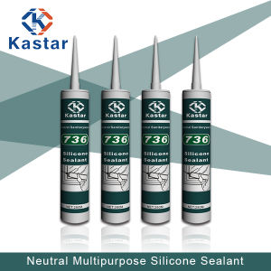 High Performance Low Modulus Neutral Silicone Sealant (Kastar736) pictures & photos