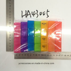 PP Notebook Pill Organizer (HA43005) pictures & photos