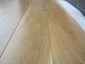Low Glossy Oiled Smooth Surface Chinese Teak Wood Floor