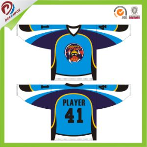 Latest Design China Custom Funny Wholesale Blank Cheap Team Set Hockey Jersey Sublimated pictures & photos