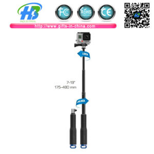 2015 New Design Selfie Stick Extendable Pole Telescoping Handheld Monopod with Mount Adapter