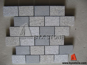 Yellow Natural Outdoor Garden Granite Paving Stone/Cobblestone pictures & photos