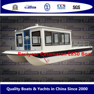 Bestyear Catamaran Boat House Boat 850 Boat Multi-Purpose Boat pictures & photos