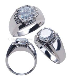 2014 New Men′s Engagement Rings 925 Silver pictures & photos