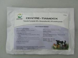 Tiamulin Fumarate 10% + Doxycycline HCl 15% Soluble Powder