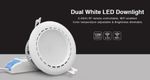 12W Dual White LED Downlight pictures & photos