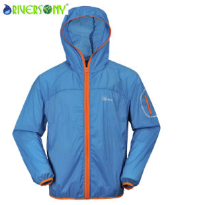 Cycling Outdoor Jacket with Front Zipper pictures & photos