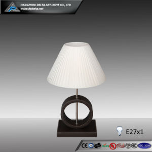 Modern Table Lamp Design Wooden Base (C5004108) pictures & photos