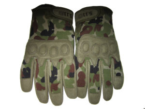 Airsoft Full Finger Tactical Combat Gloves with Logo