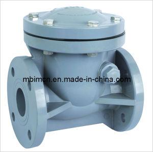 PVC Swing Check Valve (Industrial plastic valves) pictures & photos