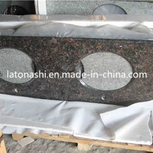 Tan Brown Granite Vanities Tops for Bath, Kitchen, Bar, Island pictures & photos