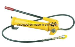 700 Bar Big Oil Capacity Manual Hydraulic Pump (CP-700-3) pictures & photos