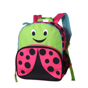 Wholesale Cute Ladybug Cartoon Kids Children School Bag (SCB0104) pictures & photos