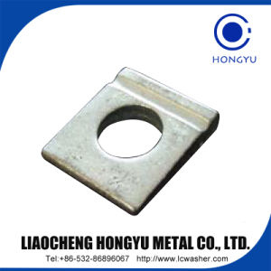 Square Taper Washers for High-Strength Structural Bolting of Steel I Section pictures & photos