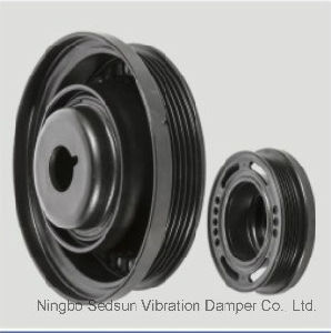 Torsional Vibration Damper / Crankshaft Pulley for Opel 55559328 pictures & photos