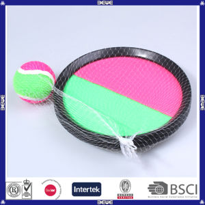 Cheap Price Sports Toys Plastic OEM Logo Round Shape Catch Ball Set pictures & photos