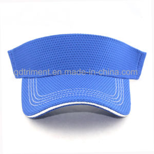 100% Polyester Breathable Fabric Golf Sun Visor Hat (TRNV096) pictures & photos