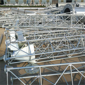Made in China Guyed Mast Tubular Steel Lattice Telecom Tower pictures & photos