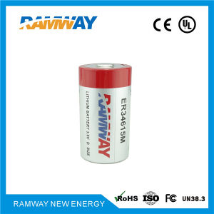 D Size 14.5ah Lithium Battery (ER34615M) pictures & photos