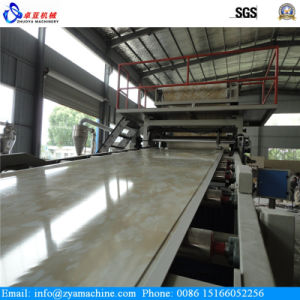 PVC Artificial Marble Sheet/Panel Extrusion Machine pictures & photos