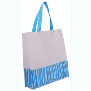 Black Non-Woven Shopping Bags for Gift Promotional (FLN-9055) pictures & photos