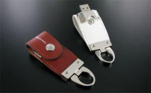 Leather USB Flash Drive with 1GB - 64GB Capacity, Samsung Chip pictures & photos
