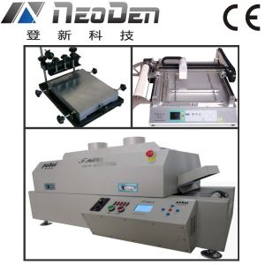 SMD Production Line with T960e Reflow Oven pictures & photos