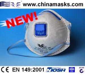 Dolomite Test Dust Mask CE Dust Mask Active Carbon Face Mask CE Face Mask Respirator pictures & photos