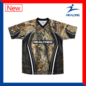 Healong Customize Breathable Fishing Shirts Dri Fit pictures & photos