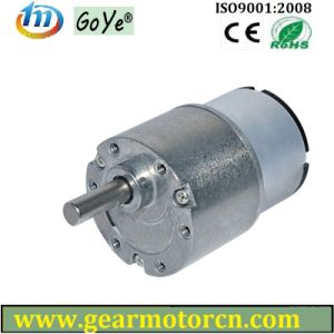 12-28V 37mm Diameter Low Rpm High Torque DC Gear Motor pictures & photos