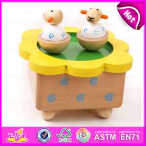 2015 New Custom Made Wooden Music Box, Popular Mini Music Box Wholesale, Promotional Gift Wooden Toy Music Box Toy W07b003 pictures & photos