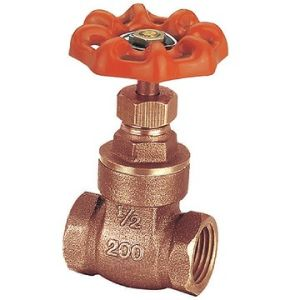 B62 C83600 Bronze Gate Valve Non Lead Lead Free pictures & photos