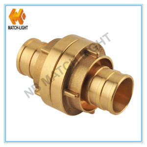 Forged Brass Hose End Storz Fire Hose Coupling pictures & photos