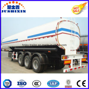 3 Axis 50000 Liters Carbon Steel Fuel Tanker Truck Semi Trailer with 4 Compartments pictures & photos