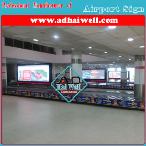 Airport Media Scroller Signage pictures & photos