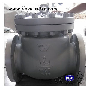 150lb A216 Wcb Swing Check Valve pictures & photos