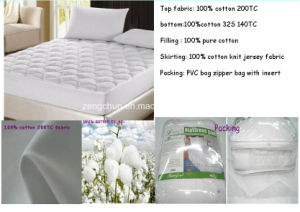 100% Cotton Filled Mattress Protector pictures & photos
