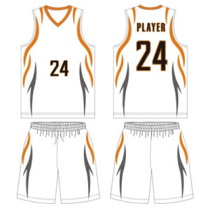 Personalized Women Sublimated Basketball Jersey with Mesh Fabric pictures & photos
