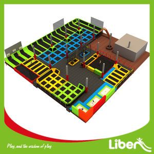Liben Large Children Indoor Trampoline with Foam Pits pictures & photos