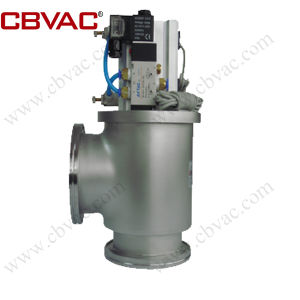 ISO Flanges Vacuum Angle Valve - Manually Operated Vavles pictures & photos