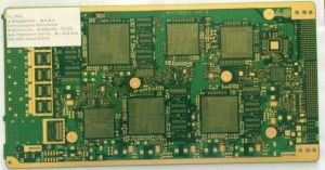 14 Layers PCB with Immersion Gold Surface Treatment