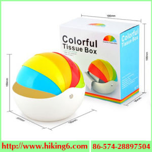 Rainbow Tissue Box, Rainbow Bowl, Snack Bowl pictures & photos