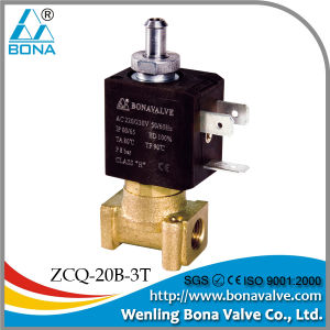 2/3 Way Solenoid Valve (ZCQ-20B-3T)-BONA pictures & photos
