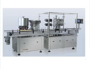 Suspending Liquid Filling and Stoppering Machine pictures & photos