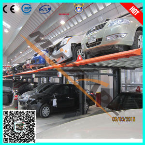Car Vertical Parking Ce Hydraulic Two Post Car Lift (1127) pictures & photos