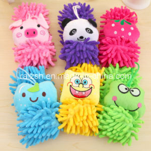 Cartoons Multi-Purpose Chenille Hanging Towel / Microfiber Cloth pictures & photos