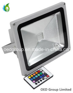 IP65 50W RGB LED Flood Light with 24-Key Remote Control pictures & photos