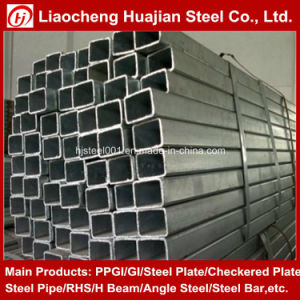 Rectangular Steel Pipe Size 200X50X8mm for Machine Industry Application pictures & photos