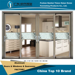 Aluminum Sliding/Metal Doors with Double Glass pictures & photos