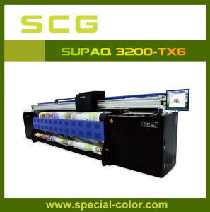 3.2 Width Digital Textile Printer for Flag Banner Supaq3200-Tx6 pictures & photos